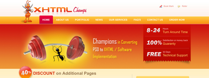 XHTML Conversion