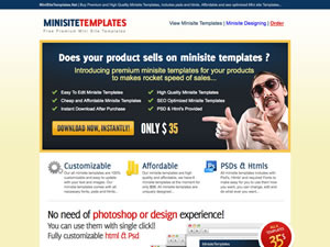 Minisite Templates thumnail