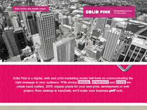 Solid Pink Studio