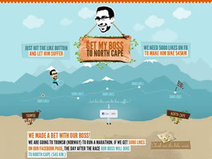 Get my boss to North Cape thumnail