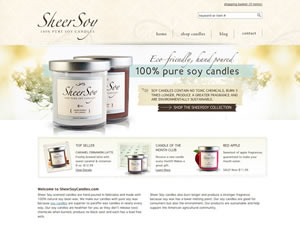 Sheer Soy Candles thumnail