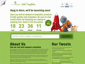 Web Templates Creare thumnail
